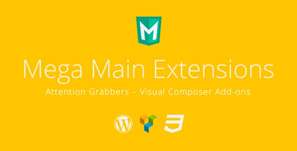 Attention Grabbers - Visual Composer Addons