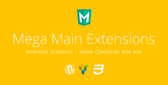 Attention Grabbers - Visual Composer Addons - CodeCanyon Item for Sale