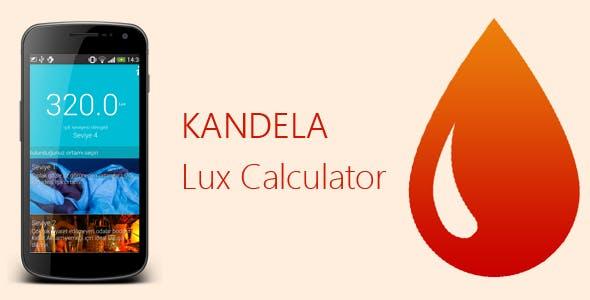 Kandela — LUX Calculator