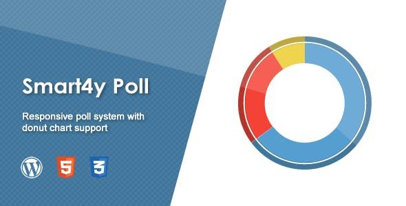 Smart4y Poll - Responsive WordPress Plugin with Donut Chart