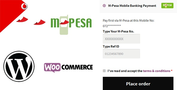 M-Pesa Mobile Payment for WooCommerce - CodeCanyon Item for Sale