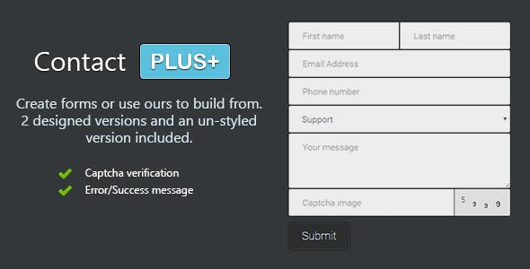 PHP Contact Form - CodeCanyon Item for Sale