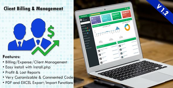 Client Billing & Management System