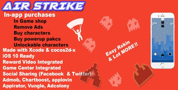 Air Strike - CodeCanyon Item for Sale