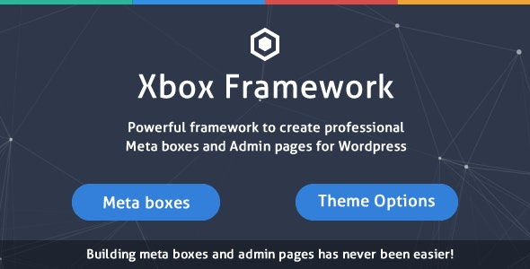 Custom Fields & Options Plugin for WordPress - Xbox Framework - CodeCanyon Item for Sale
