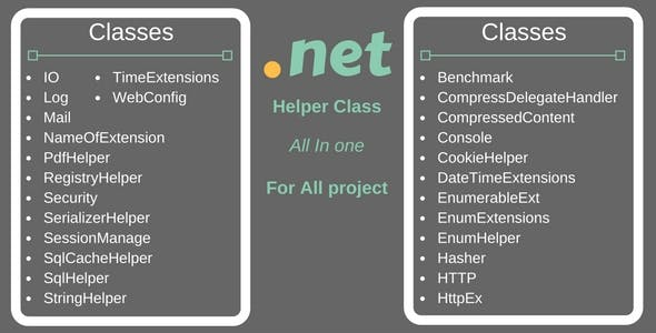 .Net Common Helper Project
