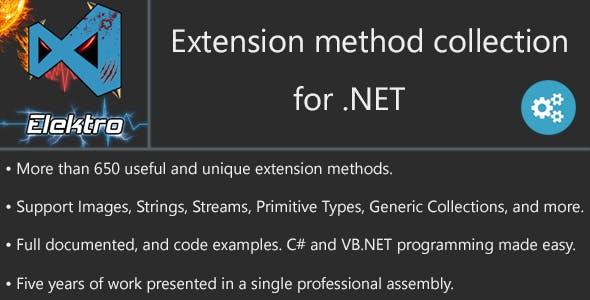 .NET Huge Extension-methods Collection