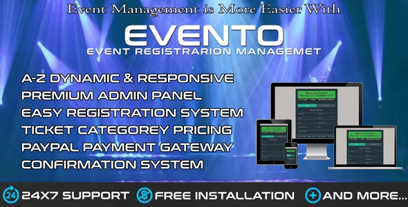 EvenTO - Event & Seminar Seat Booking System - CodeCanyon Item for Sale