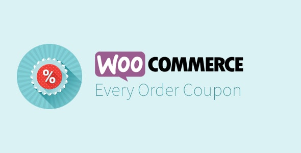 Every Order Coupon for WooCommerce - CodeCanyon Item for Sale