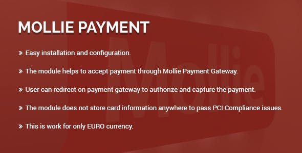 Mollie payment gateway magento 2