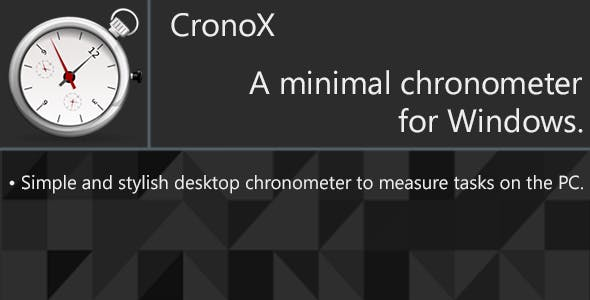 CronoX - Desktop chronometer