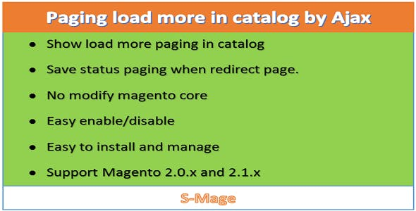 Paging load more in catalog by Ajax