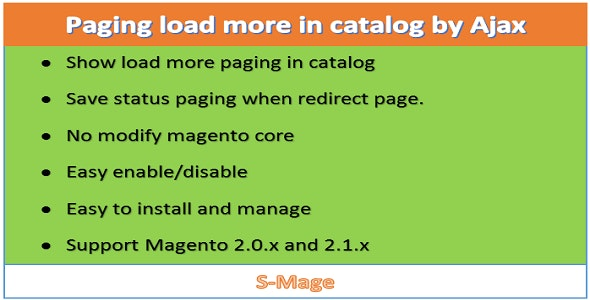 Paging load more in catalog by Ajax - CodeCanyon Item for Sale