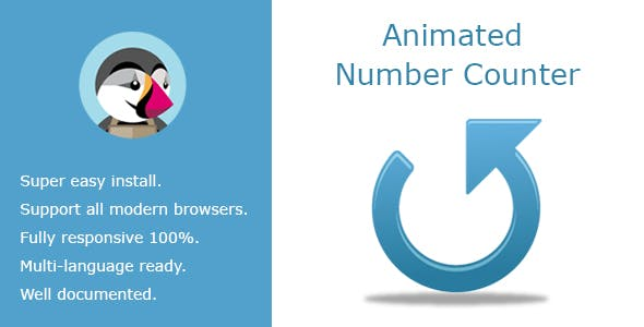 Animated Banner Number Counter And HTML Content