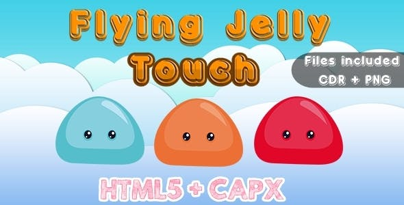 Flying Jelly Touch (CAPX + HTML5 + Vector)