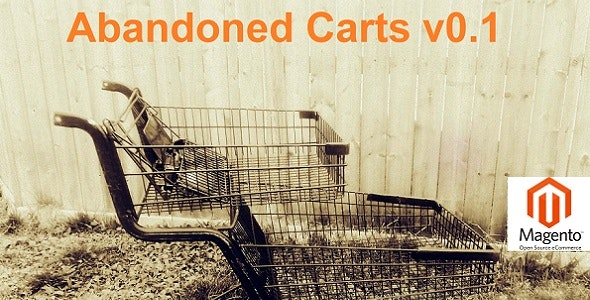 Abandoned Carts | Magento Extension - CodeCanyon Item for Sale