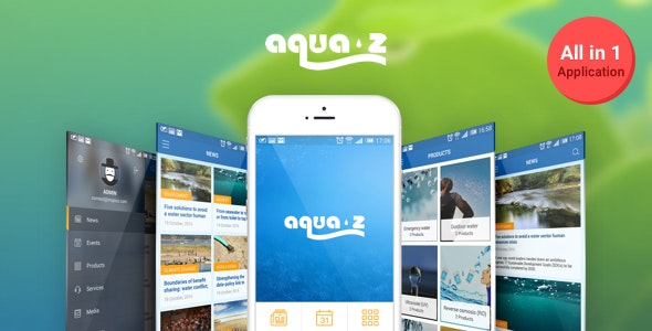 Aqua Zee - All In One App - CodeCanyon Item for Sale