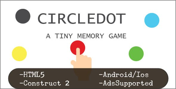 CircleDot (HTML5 Game + Construct 2 CAPX)