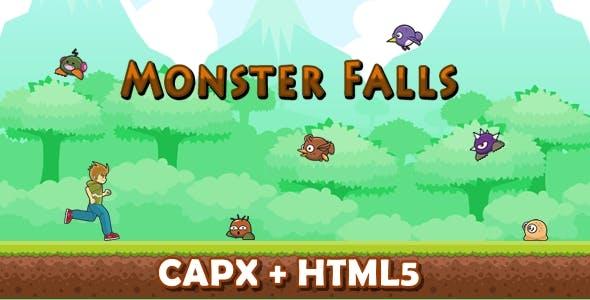Monster Falls (CAPX + HTML5)