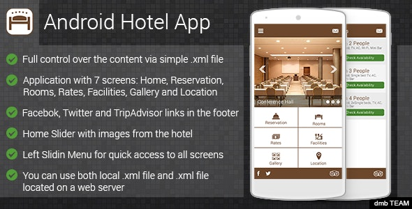 Android Hotel App - CodeCanyon Item for Sale