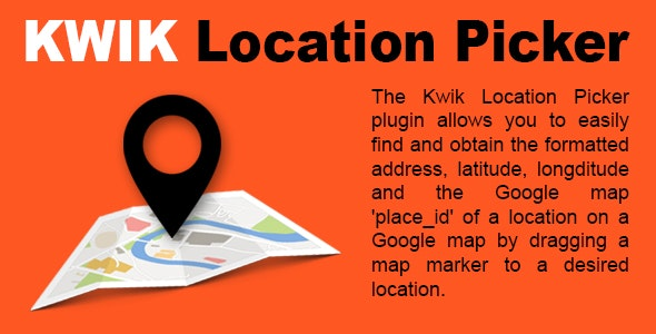 KWIK Location Picker - CodeCanyon Item for Sale