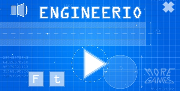 Engineerio - HTML5 game. Construct2 (.capx) + mobile - CodeCanyon Item for Sale