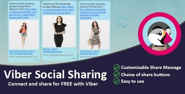 Viber Social Sharing