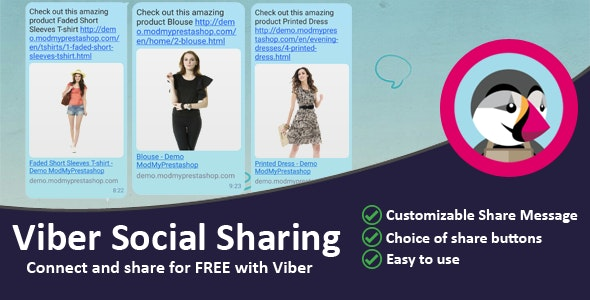 Viber Social Sharing - CodeCanyon Item for Sale