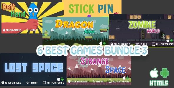 6 Games Bundle-3 - CodeCanyon Item for Sale