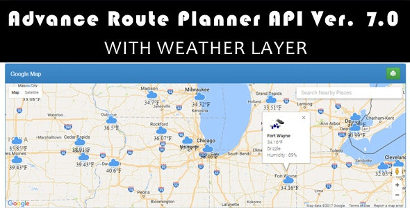 Advance Route Planner API Ver 7.0 - CodeCanyon Item for Sale