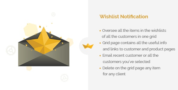 Wishlist Notification - CodeCanyon Item for Sale