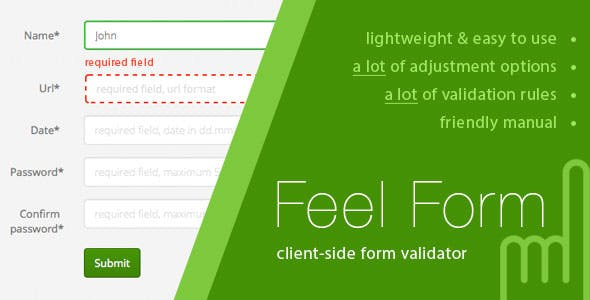 FeelForm - Client-Side Form Validator