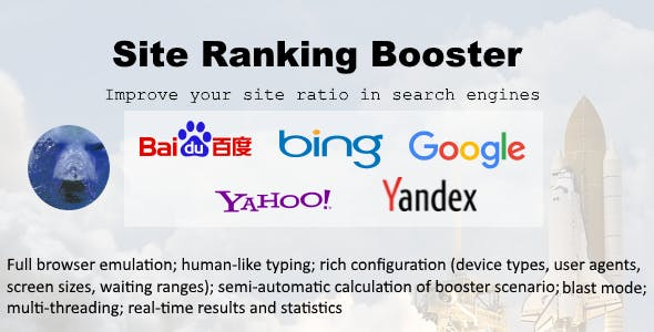 Bear Site Ranking Booster - Smart Direct & SE Traffic Generator