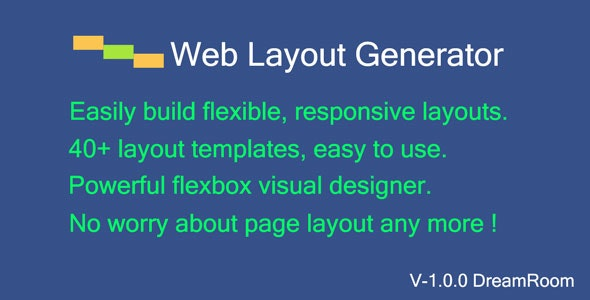 Web Layout Code Generator - CodeCanyon Item for Sale