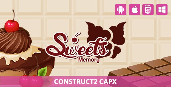 Sweet Memory - HTML5 Game (Capx)