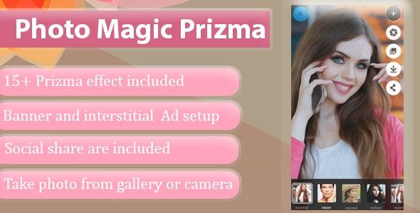 Photo Magic Prizma - CodeCanyon Item for Sale