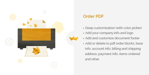 Order PDF - CodeCanyon Item for Sale