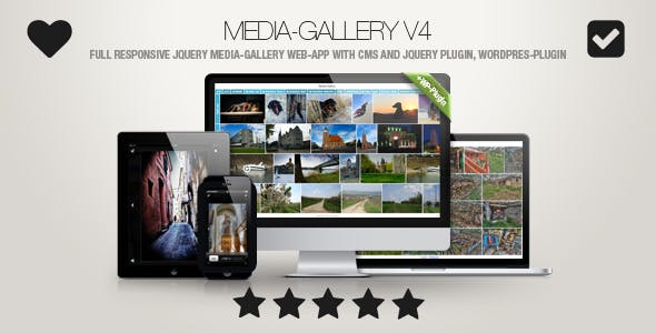 Media-Gallery - Touch-Enabled jQuery Image Gallery incl. WP-Plugin