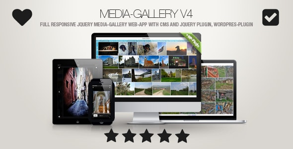 Media-Gallery - Touch-Enabled jQuery Image Gallery incl. WP-Plugin - CodeCanyon Item for Sale
