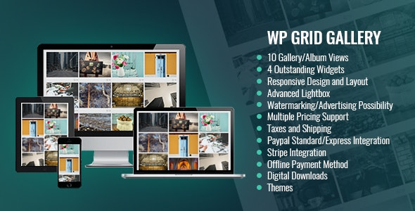 WP Grid Gallery I Wordpress Gallery Plugin - CodeCanyon Item for Sale