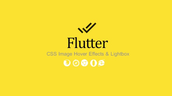 Flutter - CSS Image Hover Effects & Lightbox - CodeCanyon Item for Sale