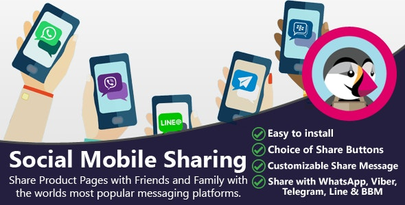 Social Mobile Sharing - CodeCanyon Item for Sale