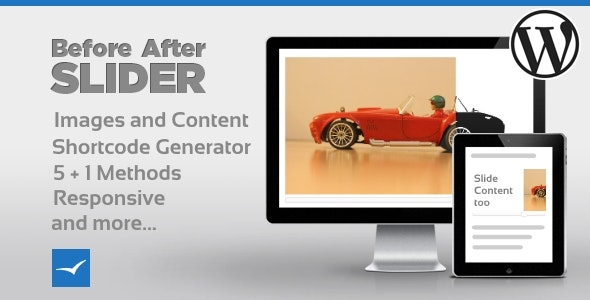 Before After Image/Content Slider for WordPress - CodeCanyon Item for Sale