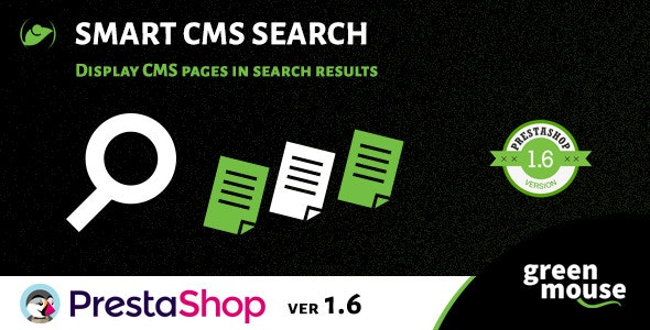 Prestashop Smart CMS Search - CodeCanyon Item for Sale