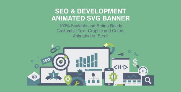 Animated SVG Banner SEO & Development