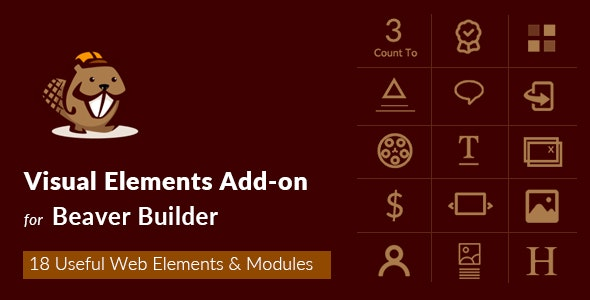 Visual Elements Addon For Beaver Builder - CodeCanyon Item for Sale