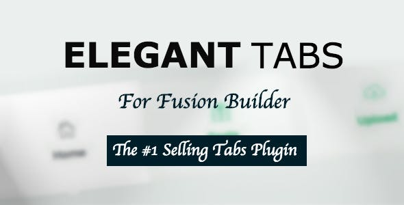 Elegant Tabs for Fusion Builder - CodeCanyon Item for Sale
