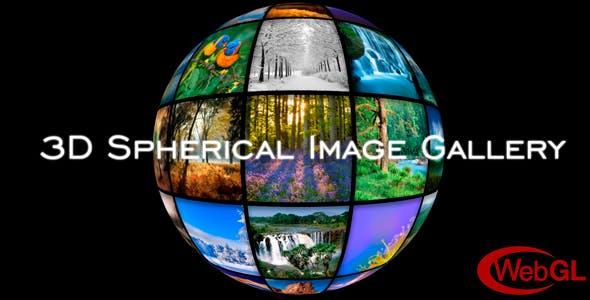3D Spherical Image Gallery | JavaScript & PHP Plugin