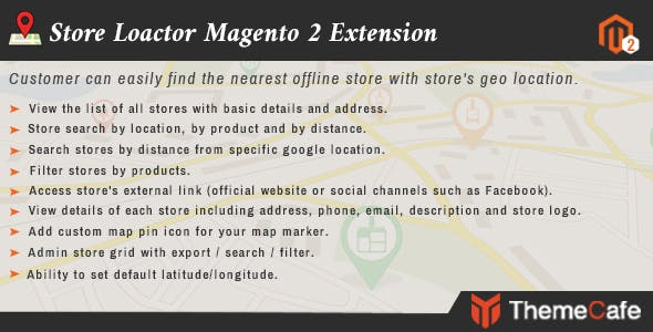 Store Locator Magento 2 Extension