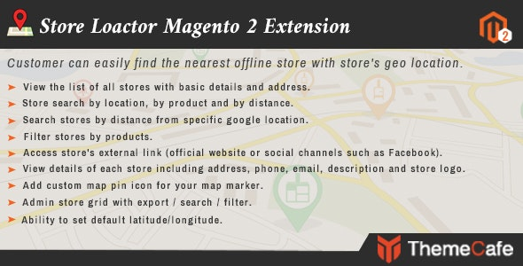 Store Locator Magento 2 Extension - CodeCanyon Item for Sale